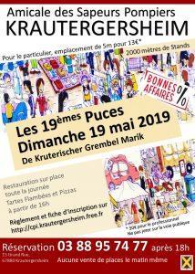 MARCHE AUX PUCES 19/05/2019