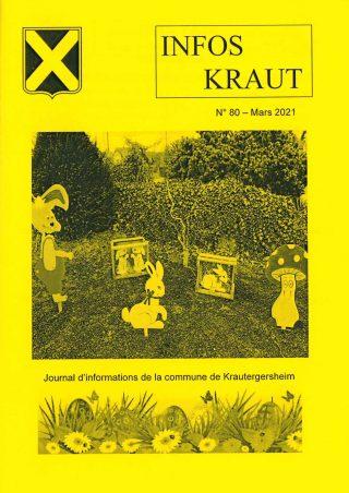Couv Infos Kraut - Mars 2021