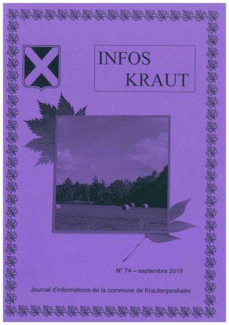 Couverture Infos Kraut Sept 19